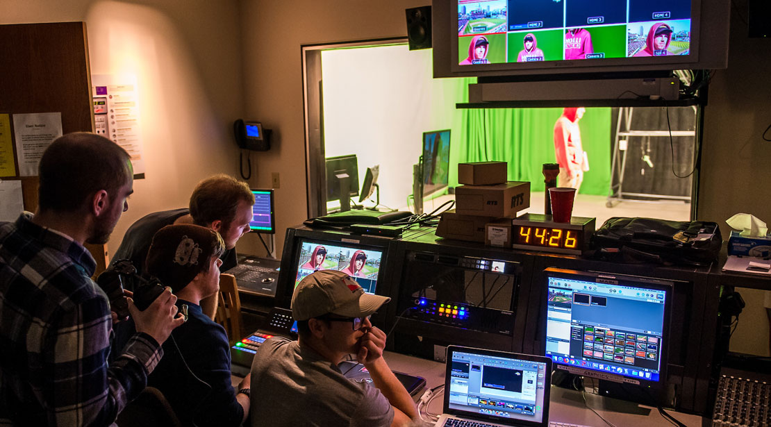 Exploring the video recording space with green-screen technology.